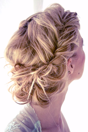 Braided bun prom hairstyle having kids pmusecretfo Image collections
